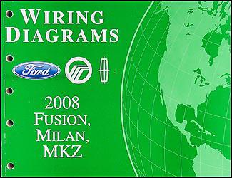 2008 ford fusion stereo wiring diagram 2004 honda accord milan mkz manual original