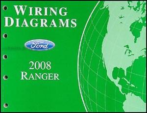 2008 Ford Ranger Wiring Diagram Manual Original