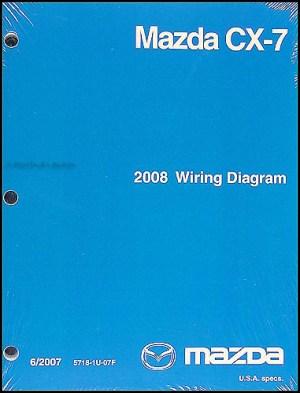 2008 Mazda CX7 Wiring Diagram Original