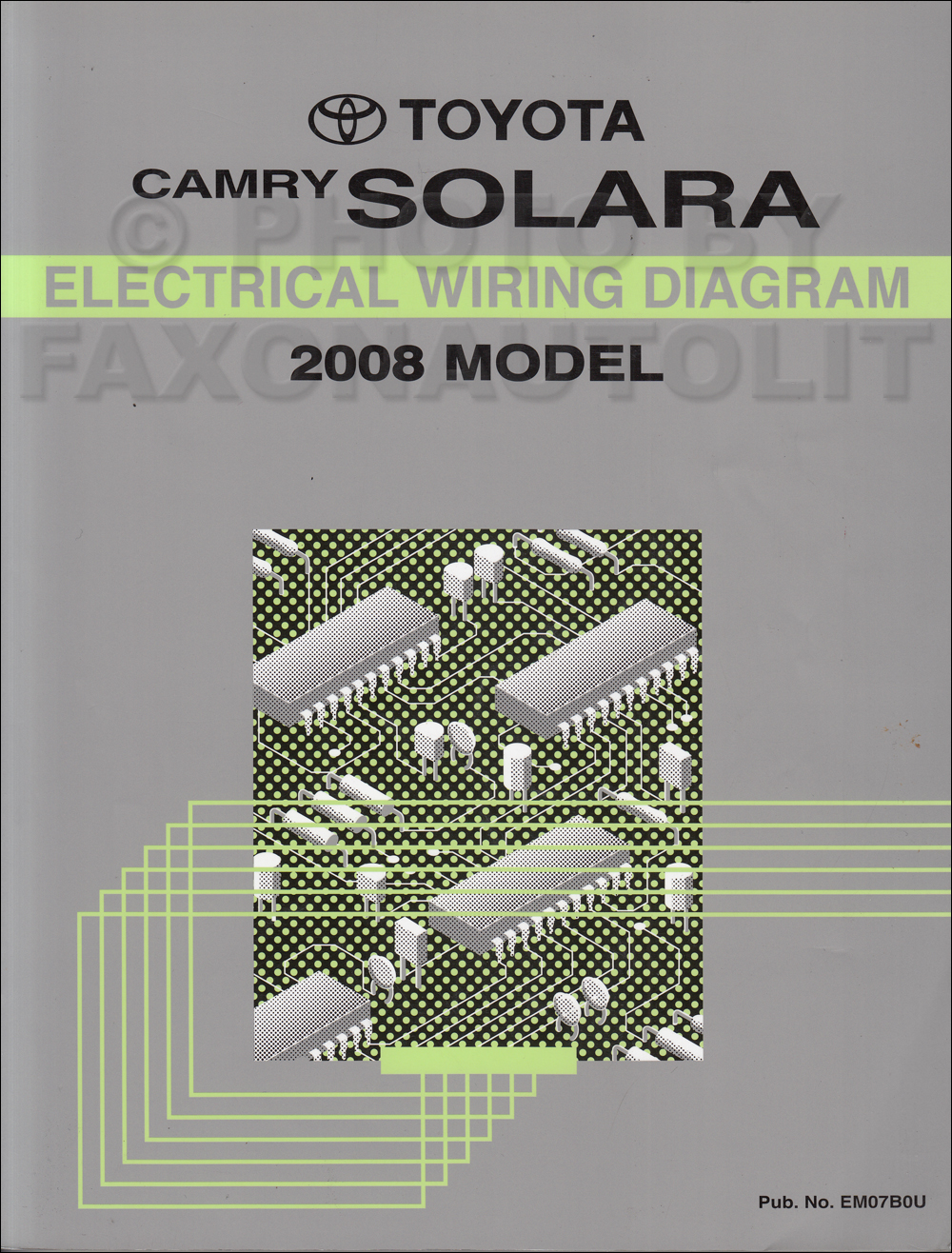 hight resolution of 2008 toyota solara wiring diagram manual original