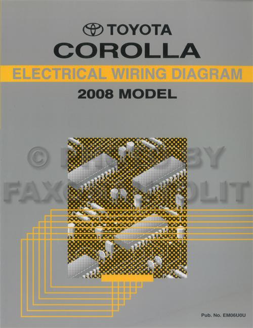 2002 Corolla Wiring Diagram