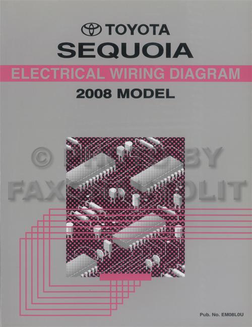 2005 Toyota Sequoia Wiring Diagram