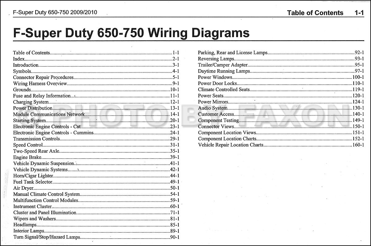 electrical wiring diagram ford f650 atwood water heater relay 2009 2010 f750 medium truck