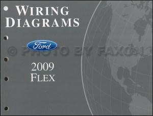 2009 Ford Flex Wiring Diagram Manual Original