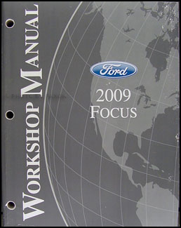 2009 Ford Focus Wiring Diagram Manual Original