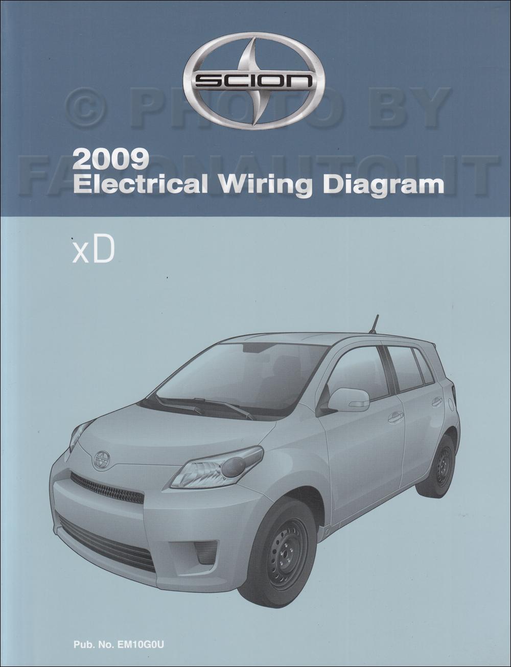 medium resolution of 2009 scion xd wiring diagram manual original mini cooper diagram 2009 scion xd wiring diagram