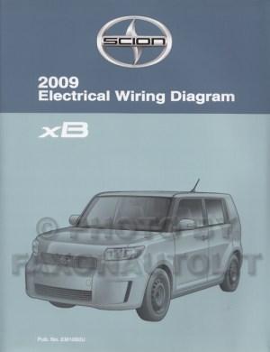 2009 Scion xB Wiring Diagram Manual Original