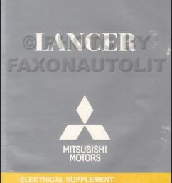 2009 5 mitsubishi lancer wiring diagram manual original  [ 800 x 1060 Pixel ]