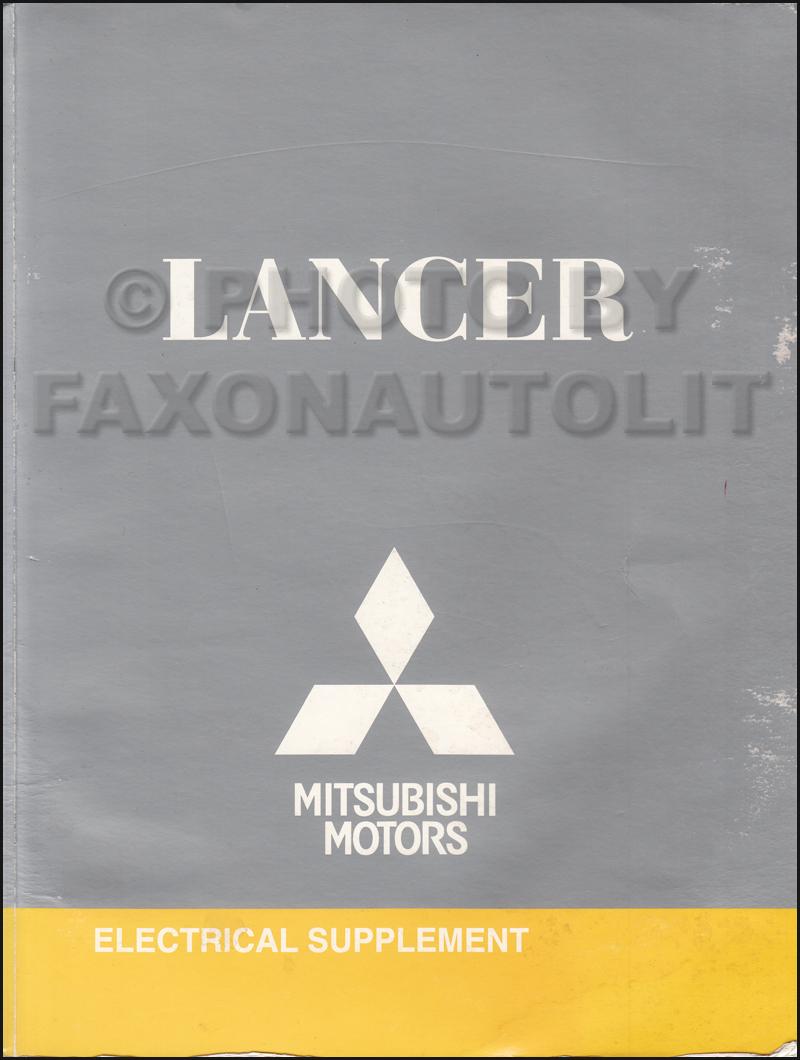 hight resolution of 2009 5 mitsubishi lancer wiring diagram manual original