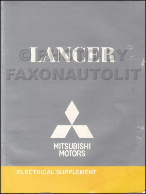 small resolution of 2009 5 mitsubishi lancer wiring diagram manual original