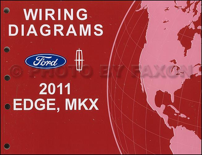 Ford Edge Fuse Box 2011 Ford Edge Lincoln Mkx Wiring Diagram Manual Original