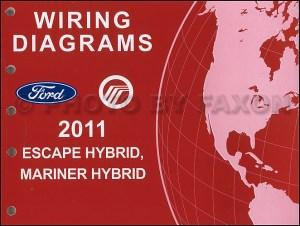 2011 Ford Escape Hybrid Mercury Mariner Hybrid Wiring