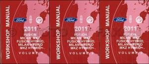 2011 Ford Fusion, Mercury Milan, Lincoln MKZ Repair Shop