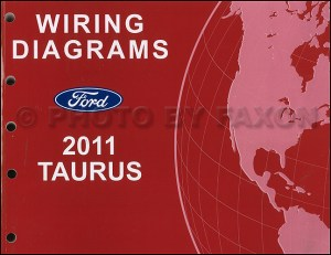 2011 Ford Taurus Wiring Diagram Manual Electrical Schematics SHO SE SEL Limited