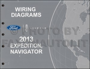 2013 Ford Expedition Lincoln Navigator Wiring Diagram