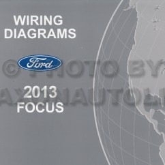 Ford Wiring Diagram Color Codes Porsche 997 Turbo 2013 Focus Manual Original