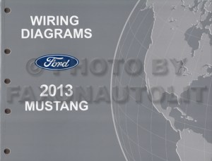 2013 Ford Mustang Wiring Diagram Manual Original