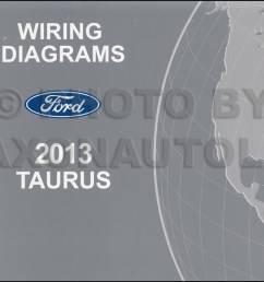 2013 ford tauru wiring diagram [ 1041 x 800 Pixel ]