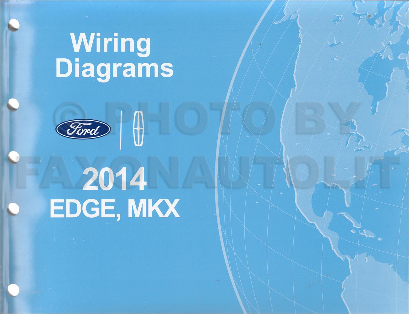 1947 Lincoln Wiring Diagram 2014 Ford Edge Lincoln Mkx Wiring Diagram Manual Original