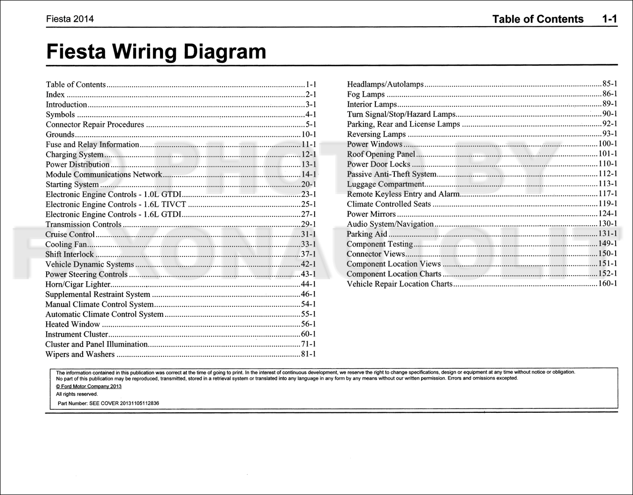 wiring diagram for ford fiesta non nte5 master socket 2014 manual original