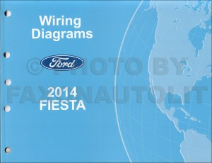 2014 Ford Fiesta Wiring Diagram Manual Original
