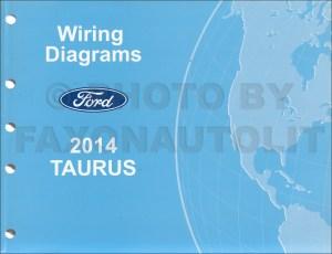 2014 Ford Taurus Wiring Diagram Manual Original