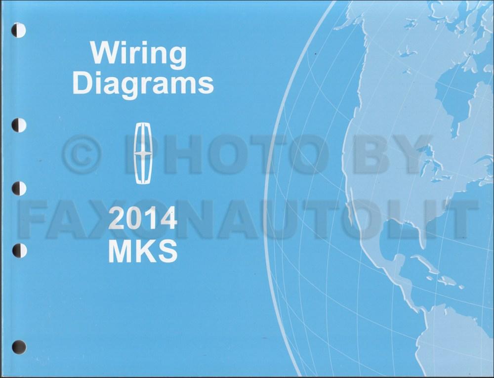 medium resolution of 2014 lincoln mks wiring diagram manual original