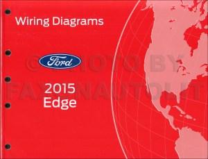 2015 Ford Edge Wiring Diagram Manual Original