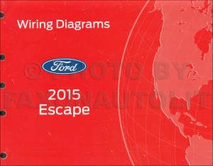 2015 Ford Escape Wiring Diagram Manual Original