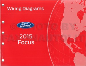 2015 Ford Focus Wiring Diagram Manual Original