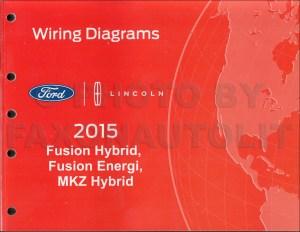 2015 Ford Fusion Energi Hybrid Lincoln MKZ HYBRID Wiring