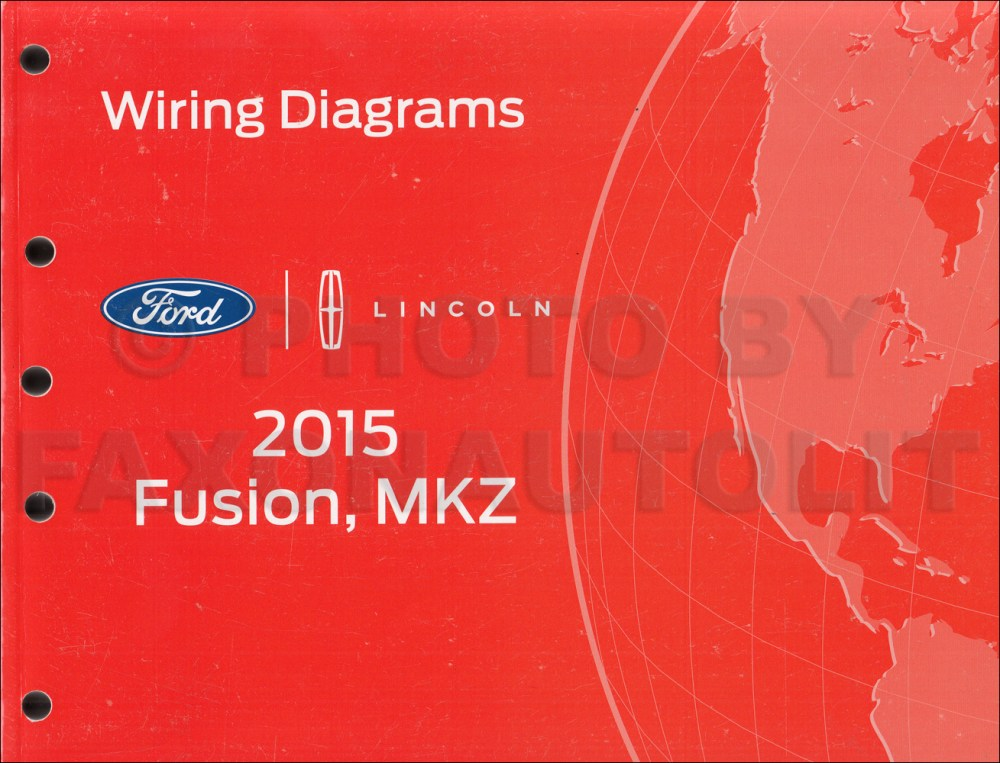 medium resolution of 2015 ford fusion lincoln mkz wiring diagram manual original wiring diagrams 2016 lincoln mkz