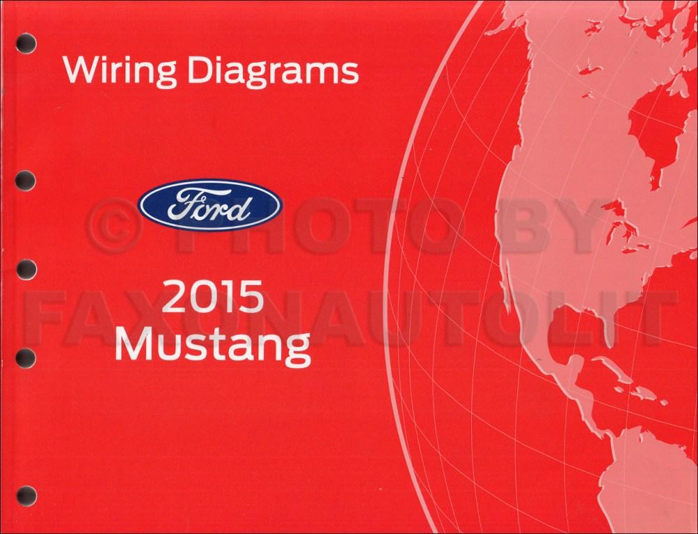 medium resolution of 2015 ford mustang wiring diagram manual original