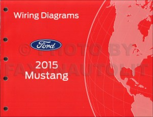 2015 Ford Mustang Wiring Diagram Manual Original
