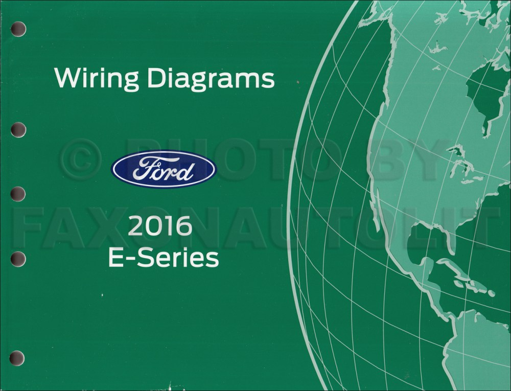 medium resolution of 2016 ford e 350 and e 450 wiring diagram manual original 2016 ford econoline wiring diagram