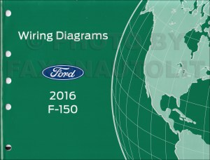 2016 Ford F150 Wiring Diagram Manual Original