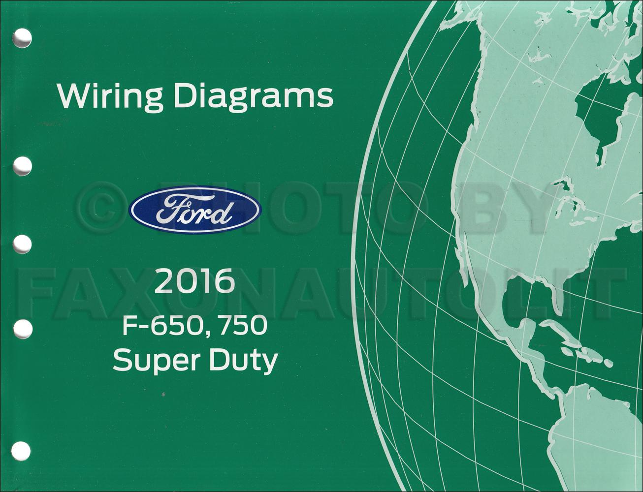Ford F750 Wiring Diagram