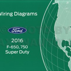 Electrical Wiring Diagram Ford F650 Shower Stall 2016 F 650 And 750 Super Duty Truck Manual Original