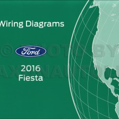 Wiring Diagram For Ford Fiesta 277v Light Switch 2016 Repair Shop Manual On Cd Rom Original