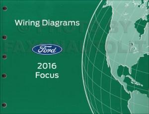 2016 Ford Focus Wiring Diagram Manual Original