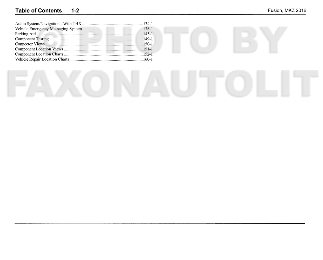 wiring diagrams manual ford fusion