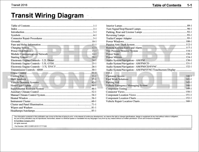ford transit wiring diagram 1980 toyota pickup headlight 2016 manual original