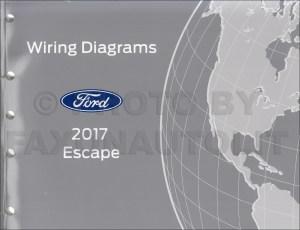 2017 Ford Escape Wiring Diagram Manual Original