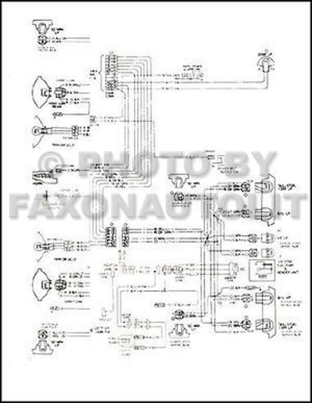 1966 Chevrolet Chevelle Wiring Diagram Reprint Malibu, SS