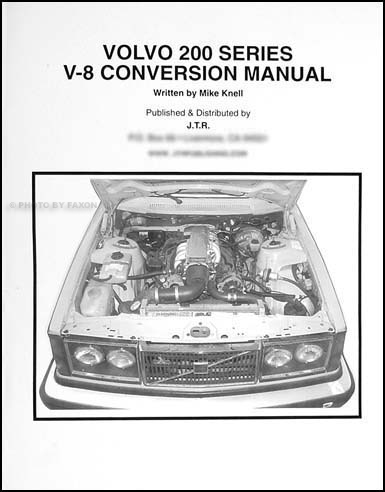 1983-1993 Volvo 240 Bentley Repair Shop Manual DL GL SE
