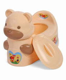 childrens potty chairs restaurant table and buy baby seat kids toilet training seats chair online babyhug teddy brown