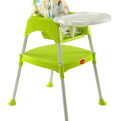 Green High Chair Toddler Folding Beach Luvlap 3 In 1 Baby Online India Buy At Best Price