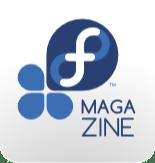 Official Fedora Magazine logo