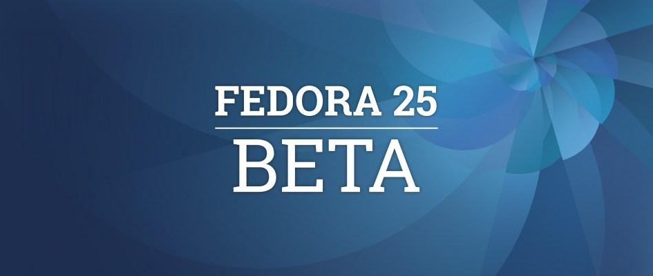 Rilasciata la Beta di Fedora 25, ecco le principali novità