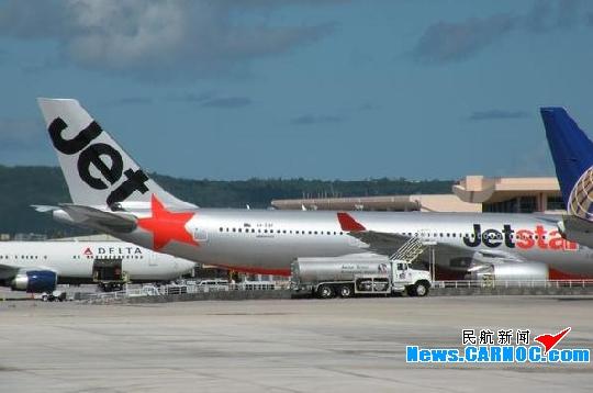 圖片 捷星航空一架A330-200駕駛艙起火 急降關島_民航新聞_民航資源網